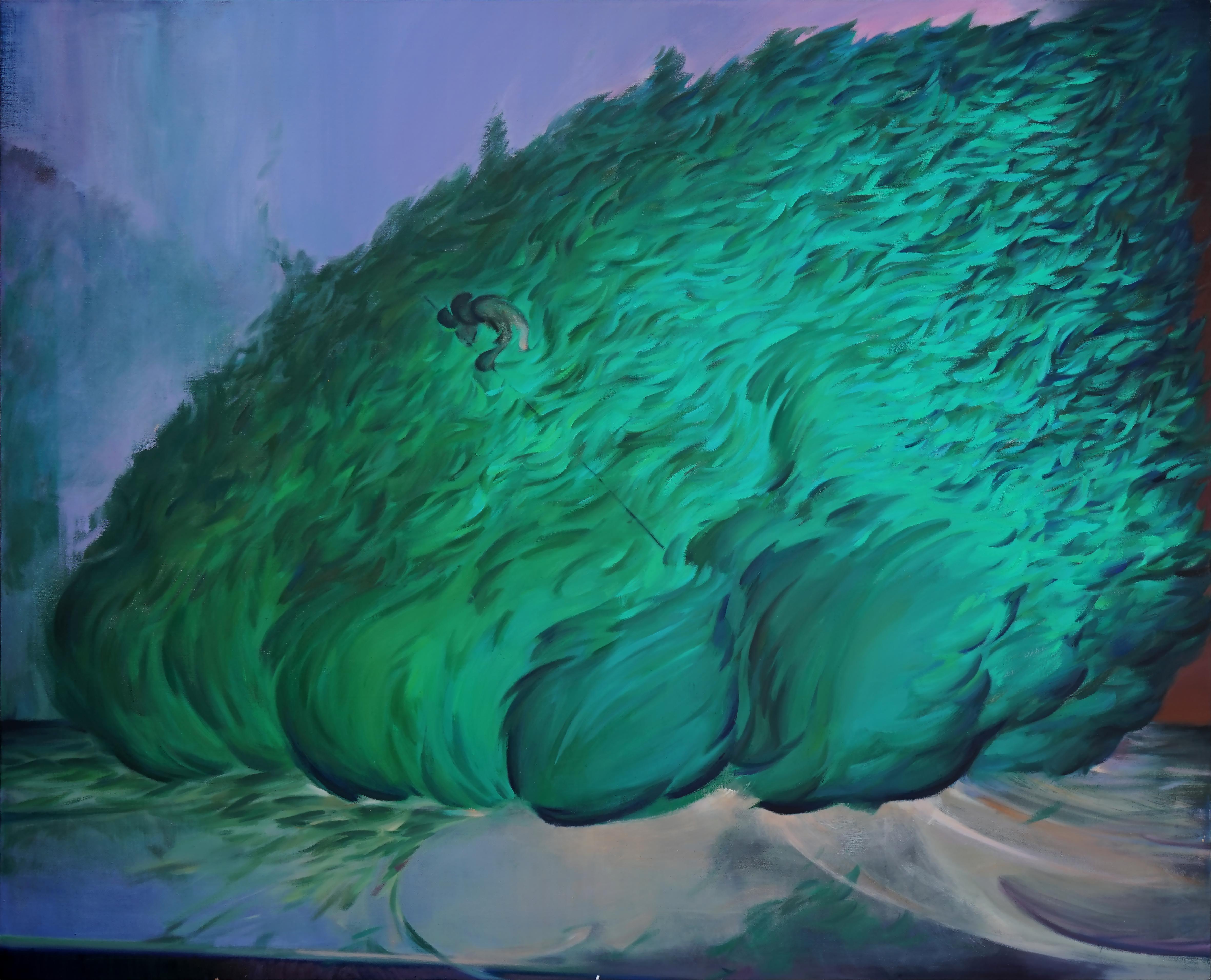 自由树 210x170cm 布面油画 2020