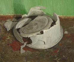 《永恒》 布面油画 50x60cm 2011