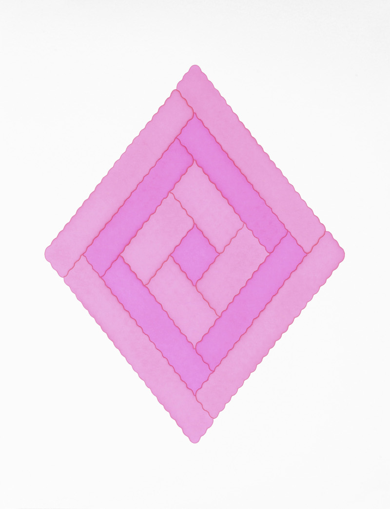 玫瑰 rv0406-S1,Rose rv0406-S1,纸上马克笔,Marker