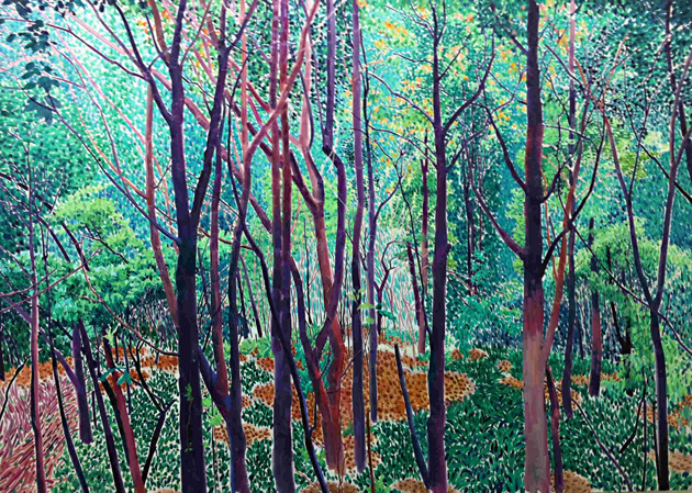 树林     100x160  2011年