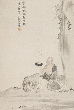 禅林宝相册 纸本水墨 22x34cm 3