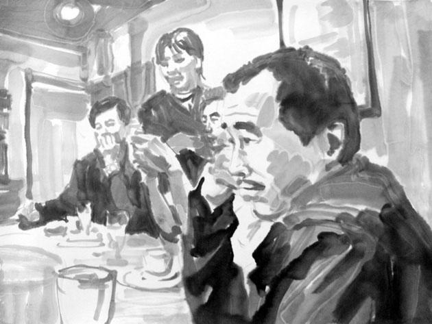 墨水城市, 陈劭雄, 录像, 3' , 2006
