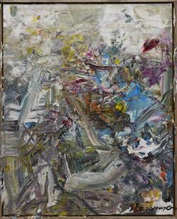 2015 抽象作品z18, 100x80