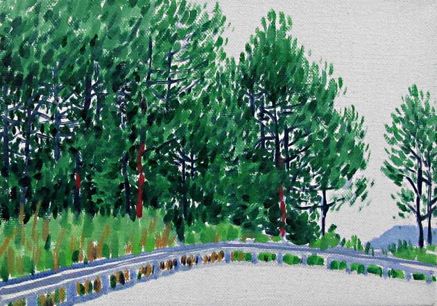 盘山公路    21x30   2011