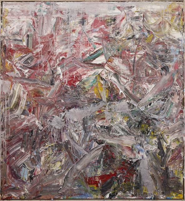 《2014抽象作品w27号》. 尺寸: 169x183cm材料:布上油画