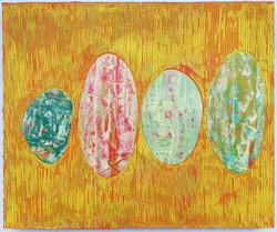《绘画107—鹅卵石》木板丙烯50x60cm .JPG