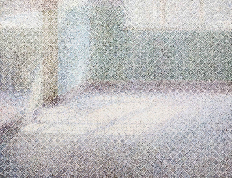 22. 走廊 布面坦培拉油画 112x145.5cm 2014