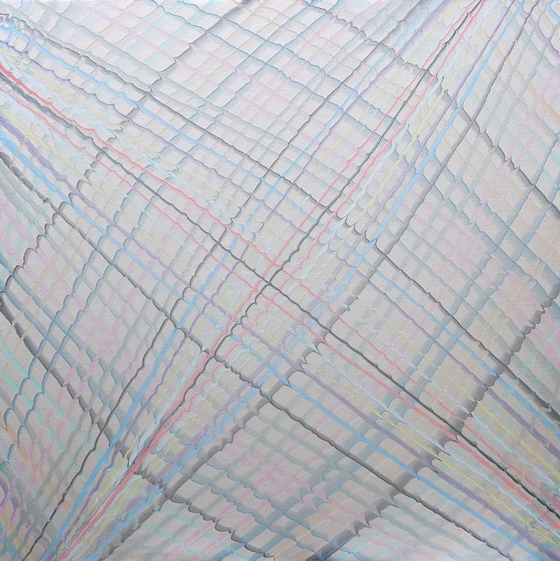 尹戈.HX-081-4.布上丙烯.2014.9090cm