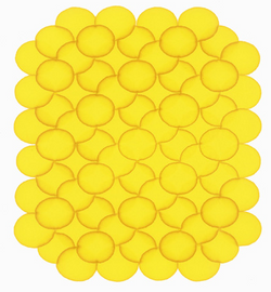 大菠萝 纸上马克笔 30x25cm 2013