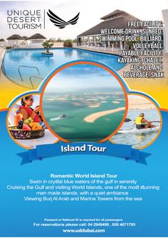 The Island flyer