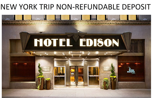 NYC 2021 Non-refundable Deposit