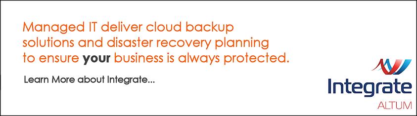 Managed IT Cloud Backup