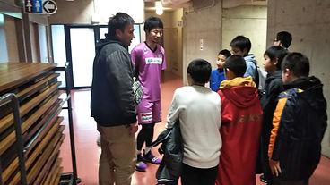 鈴木大選手と交流