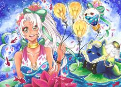 Sketchbook Page: Lumina