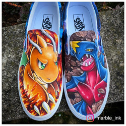Dragonite and Garchomp: Middle