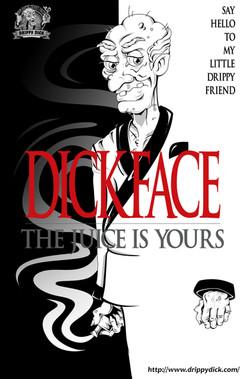"""Dickface"" Parody Poster"