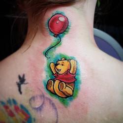 Watercolor Pen Sketch_ Winnie the Pooh.j