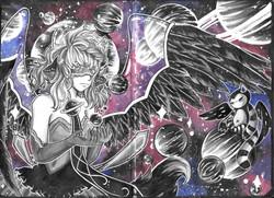 Sketchbook Page: Lunette Galaxy