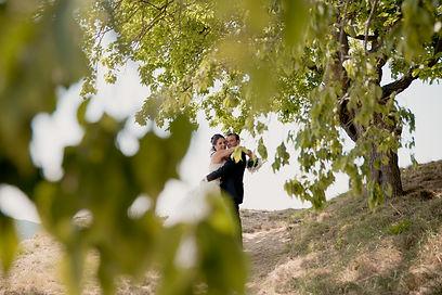 Reportage photo de mariage à Entrechaux, dans le Vaucluse (PACA)