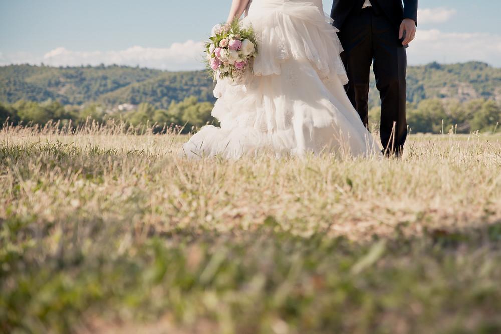 Reportage photo de mariage à Gréoux-les-Bains, dans les Alpes-de-Haute-Provence (PACA)