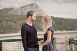 Séance photo de couple à Aix