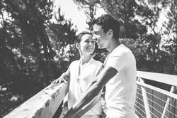 Séance photo de couple à Cadenet