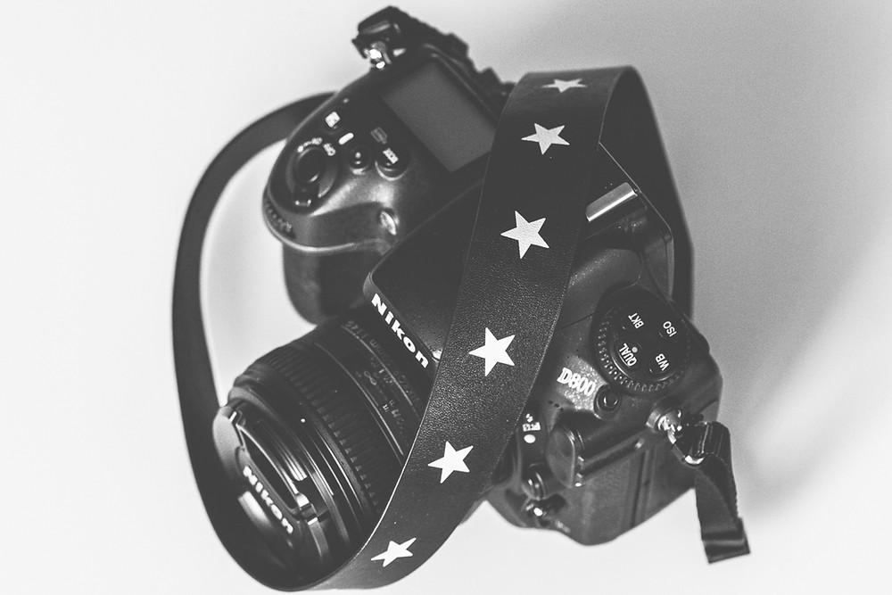 Nikon D800 sangle étoiles - Brin de Photographie