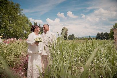 Reportage photo de mariage au 7 mas provençal de Saint Andiol, dans les Bouches-du-Rhônes (PACA).
