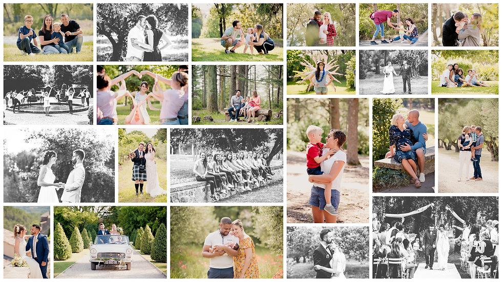 Compilation Photos 2018 Brin de Photographie Patchwork Collage Photo Photographe Provence Vaucluse PACA Pertuis