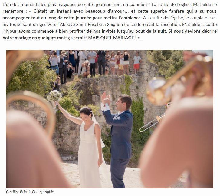 Reportage photo de mariage de Mathilde et Olivier à Oppède-le-Vieux, dans le Vaucluse (PACA)