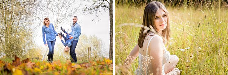 Instants Saisissants - Séance photo de famille et séance boudoir de la mariée en extérieur