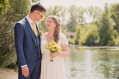 Reportage photo de mariage à La-Roque-sur-Cèze dans le gard (Occitanie).