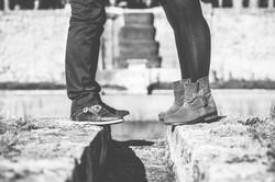 Séance photo de couple à Ansouis