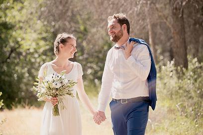 Reportage photo de mariage à Aix-Les-Milles, dans les Bouches-du-Rhônes (PACA).