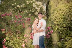 Séance photo de couple à Lourmarin