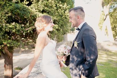 Reportage photo de mariage au château de Caseneuve à Lançon de Provence, dans les Bouches-du-Rhônes (PACA).