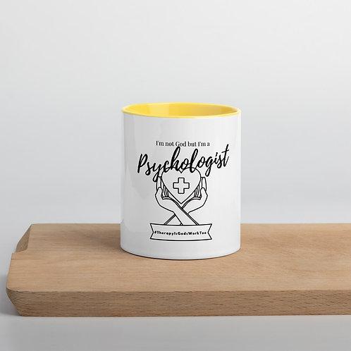 I'm a Psychologist Mug with Color Inside