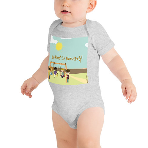 Baby short sleeve one piece: Be Kind to Yourself