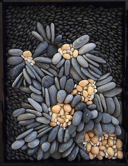 CLUSTER pebble mosaic