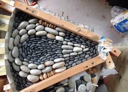 Fitting pebbles