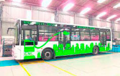 Buses colombianos harán parada en Centroamérica y el Caribe