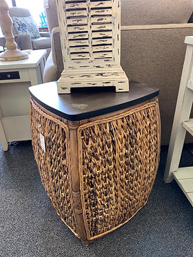 Square Round Woven Table