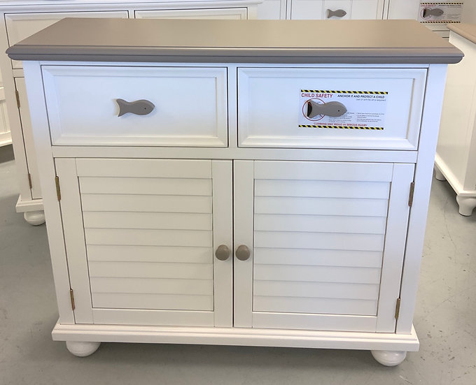 Fishtails Cabinet Two Tone