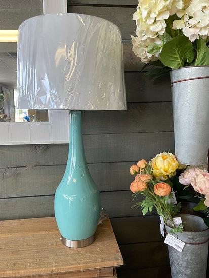 Nina blue table lamp