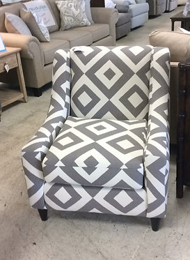 Square charcoal chair