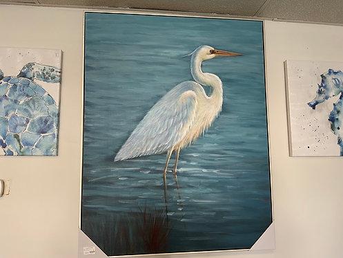 Morning Crane Wall Art