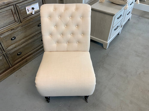 Cora Tufted Slipper Chair 63435