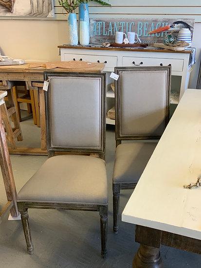 Maxwell side chair pair