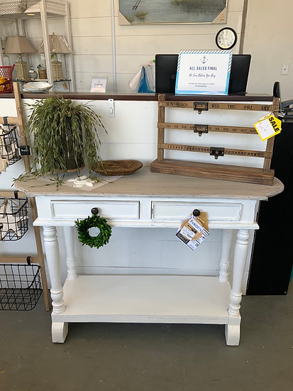 Console table 2 drw