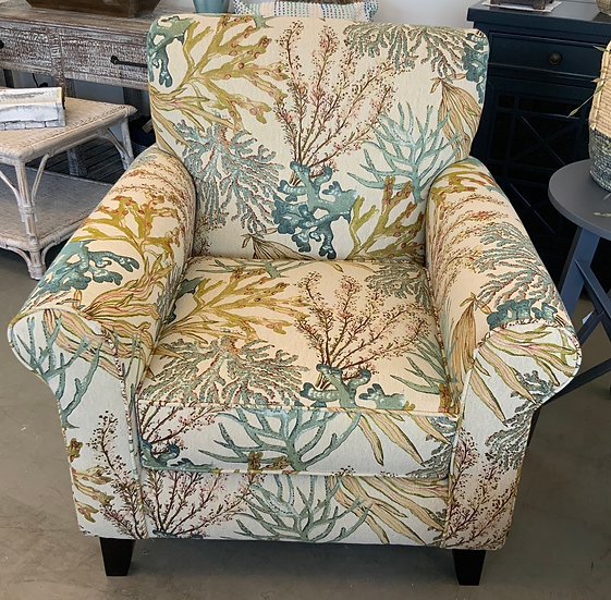 Coral reef Caribbean chair